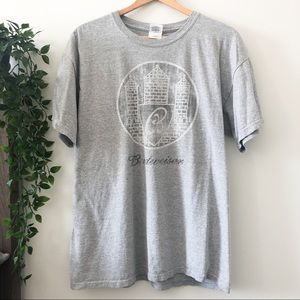 Budweiser Grey Graphic T-Shirt